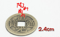 ancient chinese fashion - Fashion Hot mm Chinese Feng Shui Lucky China Ancient Coins set Educational Ten emperors Antique Fortune Money