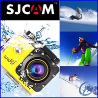 Wholesale New Original SJCAM SJ4000 WIFI HD Camera Action Camera Waterproof Outside Diving Sport Camera Helmet Sport DV CAR DVR Gopro style