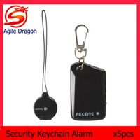 anti lost child safety alarm - 5PCS Wireless Electronic Anti theft Anti Lost Security Keychain Safety Alarm for Child Pet Luggage LIF_819