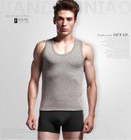 best undershirts - Men s Tank Top thick Undershirt Best Under Shirts Lycra Tank Tops Sleeveless thick vest Men s soft active Underwear