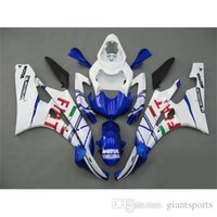 plastic injection molding - Motorbike Fairing Kits For Yamaha YZF R6 ABS Plastics Motorcycle Bodywork Fiat Painting ABS Injection Molding Fairing Kits