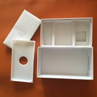 Wholesale FOR C S BOX Cell Phone Boxes for iphone s C s G G G without Accessories