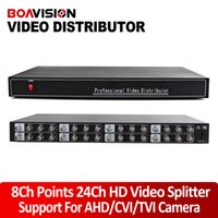 8* BNC analog input - Full HD P P Video Splitter Distributor Input Outputs Support Analog High Definition P P CVI TVI AHD Camera BNC In Out