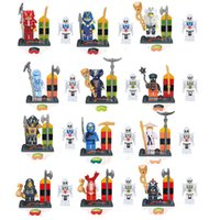 Wholesale hot selling Ninjago minifigures with White Skeleton Warrior classic building blocks brick toys for gift action figure