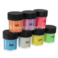 Wholesale 10ml Graffiti Party DIY Glow in the Dark Acrylic Luminous Paint Bright Pigment Party Makeup Decor Colors