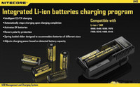 Wholesale 100 Original Nitecore UM10 Charger Nitecore UM10 Universal Intelligent with LCD Display Battery Charger VS Nitecore I2 Nitecore UM20