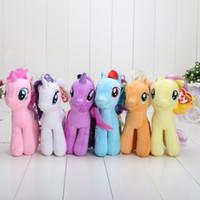 bats movie - 16cm My Little Ponies Earth ponies Unicorn Pegasus Alicorn Bat ponies Plush Cartoon plush Dolls Stuffed Toys Plush