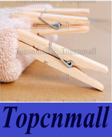 Wholesale Wooden Peg Clips CM Clothes Pegs Clothespins Clothes Clip Windproof