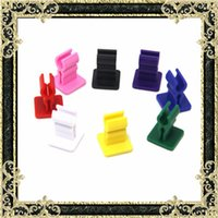 adhesive stand - Ecig driving car holder ecig stand Clamp Holder with Adhesive Tape mm for evod and ego battery stand bracket base bho box mod holder