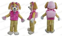 Wholesale New Arrival AM6354 patrol skye dog mascot costume adult cartoon character mascot suit party dress