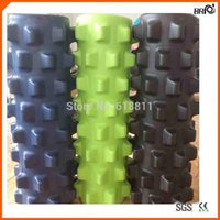 rumble roller - Factory the th generation degree Hard bumpy Eva Rumble Roller Foam rollers w colors