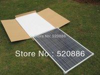 Wholesale 200w v solar panel kit x w solar panel for home system RV boat car v battery off grid