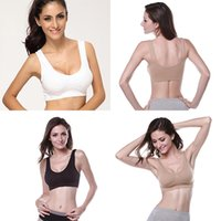 Wholesale Women Sports Bra Fitness Exercise Workout Stretch Seamless Tops Tank