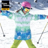 Wholesale Outdoor ski suit Women single skiing clothing windproof waterproof thermal thickening skiing