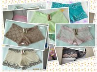 big boy panties - 120pcs big size New Beauty Shorts vs Women s Panties mesh gauze see through Lace Underwear Briefs tanga