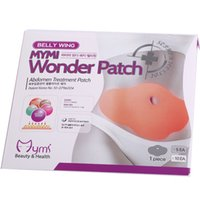 Wholesale 3000pcs packs Wonder Patch Abdomen Treatment Reduce Weight Fat Burning Slimming Body Stomach Patch Mask