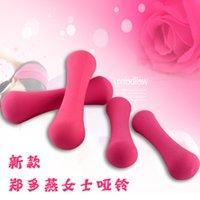 Wholesale Multicolour women s dip small dumbbell kg kg fitness equipment weight loss