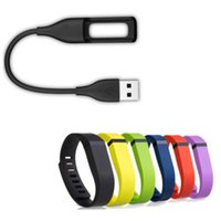 Wholesale New Arrive USB Charger Charging Cable Cord For Fit bit Flex Wireless Wristband Bracelet Fit Bit Charge High Quality
