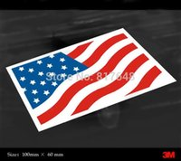 american flag decal - Exterior Accessories Car Stickers SUPERWOW car sticker M reflective stickers American flag USA bumper sticker car decals