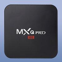 Cheap 1GB Android 5.1 MXQ Pro 4K TV BOX Best 8GB Black RK3229 Quad Core TV BOX