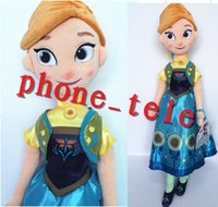Wholesale 2015 Frozen Fever Stuffed toys Dolls cm cm Frozen Elsa Anna princess toy New Arrival Frozen Plush Dolls Gifts for Children