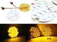 Wholesale 2PCS Amber LED Rear Turn Signal Light Blinker Harley Road King Glide Electra