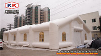 big pink house - Promotional Outdoor Inflatable Party Wedding Tent Big House Air tent