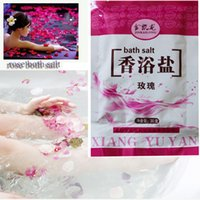 bath salts - 10pcs30g rose Bath Salt Bags of fragrant bath salt go dead skin softening keratin sterilization itching nourishing skin