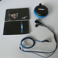 Wholesale 50 Cent In ear Earphone Best Earphone for Running SMS Audio mm Wired Headphone with Microphone Volume Control Colors