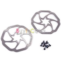 Wholesale US Stock HS1 mm Bike Bicycle MTB Disc Brake Rotor With Bolts Parts US AS