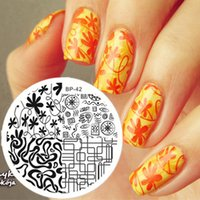 abstract art image - Mixed Abstract Lines Nail Art Stamping Template Image Plate BORN PRETTY BP42