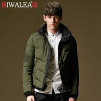 amy coat - Fall Jacket Winter Men Short Thick Autumn Large Siz White Duck Down Parka Jackets Brand Male Goose Down Amy Green Black Coat