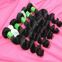 100 natural human hair - Virgin Loose Wave Natural Human Hair Wefts inch Natural Human Hair