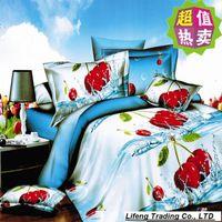 Cheap Marilyn monroe bedding queen size bedding set flowers fruit bed linen home textile bedclothes duvet cover 4pcs set quilt cover