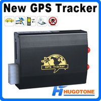 Wholesale Newly High Quality Car GPS Tracker TK103 GPRS GSM Realtime GPS GSM GPRS Car Vehicle Tracking Vehicle GPS Tracker with Tracking and Monitor