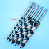 Wholesale pc Brad Point Drill Cr Steel SDS Auger Drill Bit Set Hex Spiral Wood Drilling mm Set