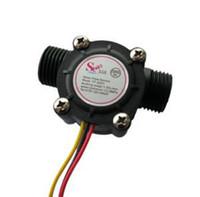 Wholesale Holiday Sale Water flow sensor flowmeter Hall flow sensor Module Water control L min With Low Price