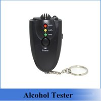 alcohol pricing - Hot Sale Alcohol Tester Digital Breathalyzer Alcohol Tester With Keychain Black For Personal Using best price