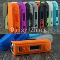 Wholesale idearcig new arrival sx mini m class w box mod silicone case cover skin enclosure box different color to choose