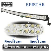 pick up truck - US Stock W inch Curved LED Work Light Bar Epistar w Offroad Driving Lamp Fit Trailer Auto Pick up Truck Spot Flood Combo Beam