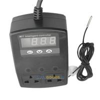 Wholesale LS4G Double Socket Thermostat For Reptile Snake Lizard Incubator Heat Pad Aquarium