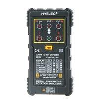 Wholesale HYELEC MS5900 Motor Phase Rotation Indicators Tester Meters for FLUKE F9040 F9062