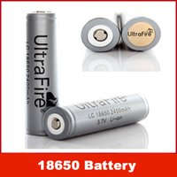 18650 battery protection board - Factory sell Ultrafire UltraFire LC mAh V Rechargeable Battery Grey w Protection Board
