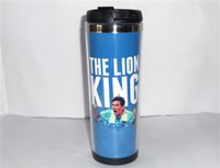 argentina travel - New Argentina Lionel Messi Diy Creative Coffee Cup Blue Travel Water Cup Stainless Steel Cup ML CM