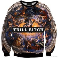 abstract hoodies - 3D printed purple galaxy Natural scenery Abstract painting personality sweatshirts casual hoodies sports costumes Mujer moleton
