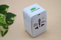 Wholesale Hot Sale international Universal UK US AU EU Converters adapter phone charger travel adapter for travel gift