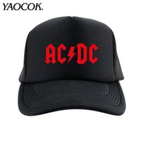 beach boys band - Fashion Casual Hip Hop Logo Custom ACDC Punk Rock Band Cool Mens Knit Hats And Snapback Caps Sport Brand Winter