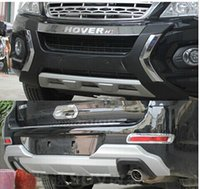 Wholesale 2011 Great Wall Haval Hover H6 High quality plastic ABS Chrome Front Rear bumper cover trim XDAL