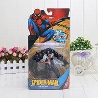venom - Hot sale The Amazing Spider Man Toy Spiderman Venom PVC Figure Toy cm New Movie Version Figures18cm
