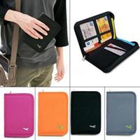 black pillow cases - 1X Credit ID Card Document Holder Travel Passport Case Bag Organizer Wallet Purse